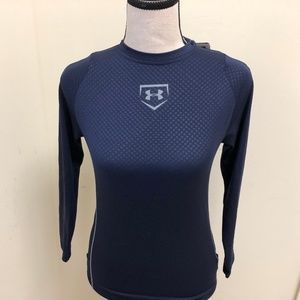 Under Armour Boys Fitted Long Sleeve Performance